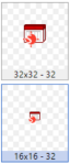 Draft designs for Shine's calendar file icon